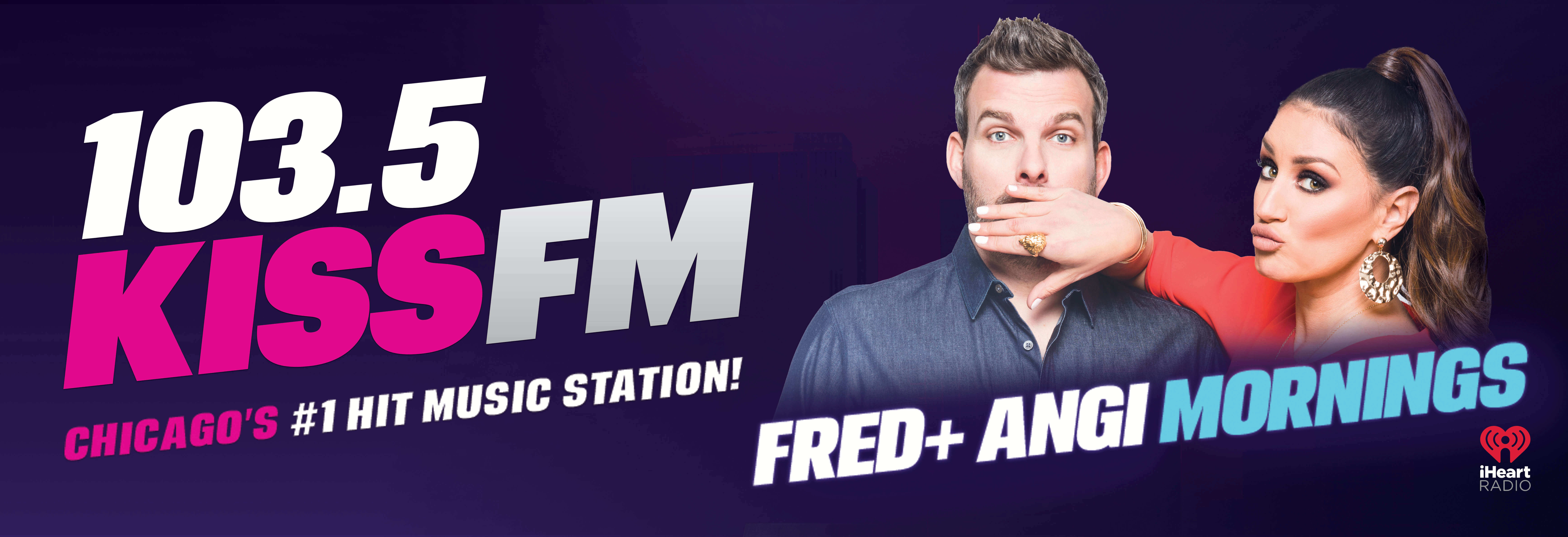 Fred and Angi on 103.5 KISS FM