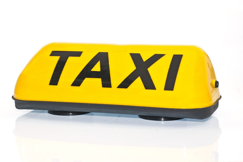 yellow taxi topper
