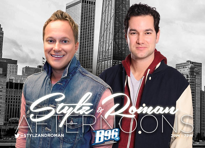 Dougie Stylz and Justin Roman from Chicago's B96